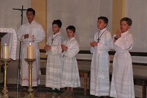 Servants de messe